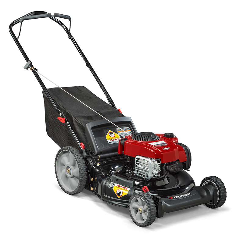 "21"" Push Mower with Mulching, Rear Bag, Side Discharge (MP21625)"