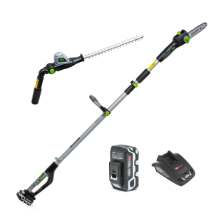 18V Li-Ion Cordless Pole Saw & Hedge Trimmer 2-in-1 Kit