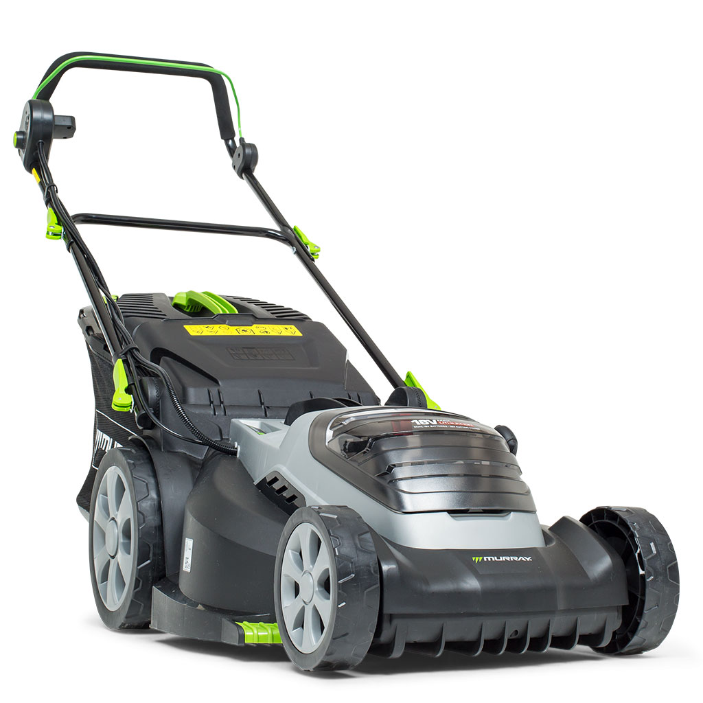 18V LithiumIon 44cm Walk Behind Mower Kit