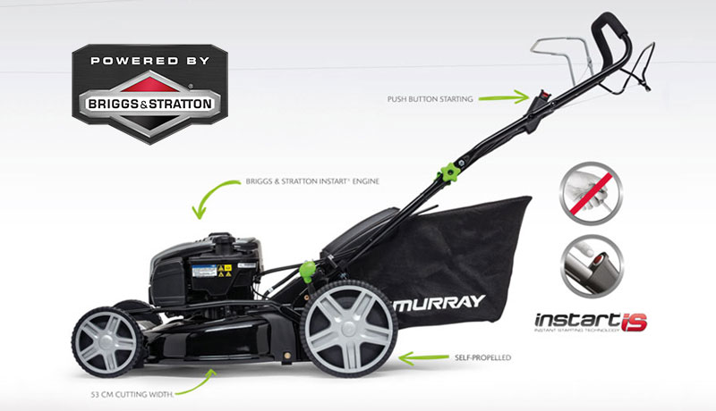 Murray Powered by Briggs & Stratton